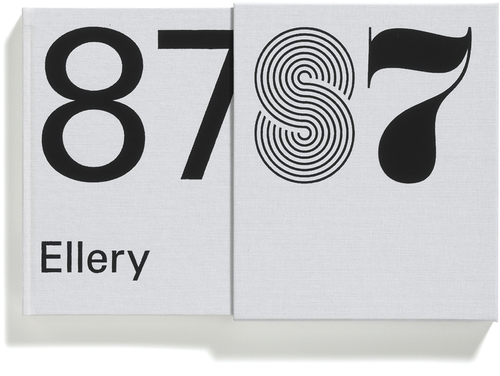 87 Ellery, Jonathan Ellery, Published by Browns Editions, Design by Browns Design, art book, graphic design