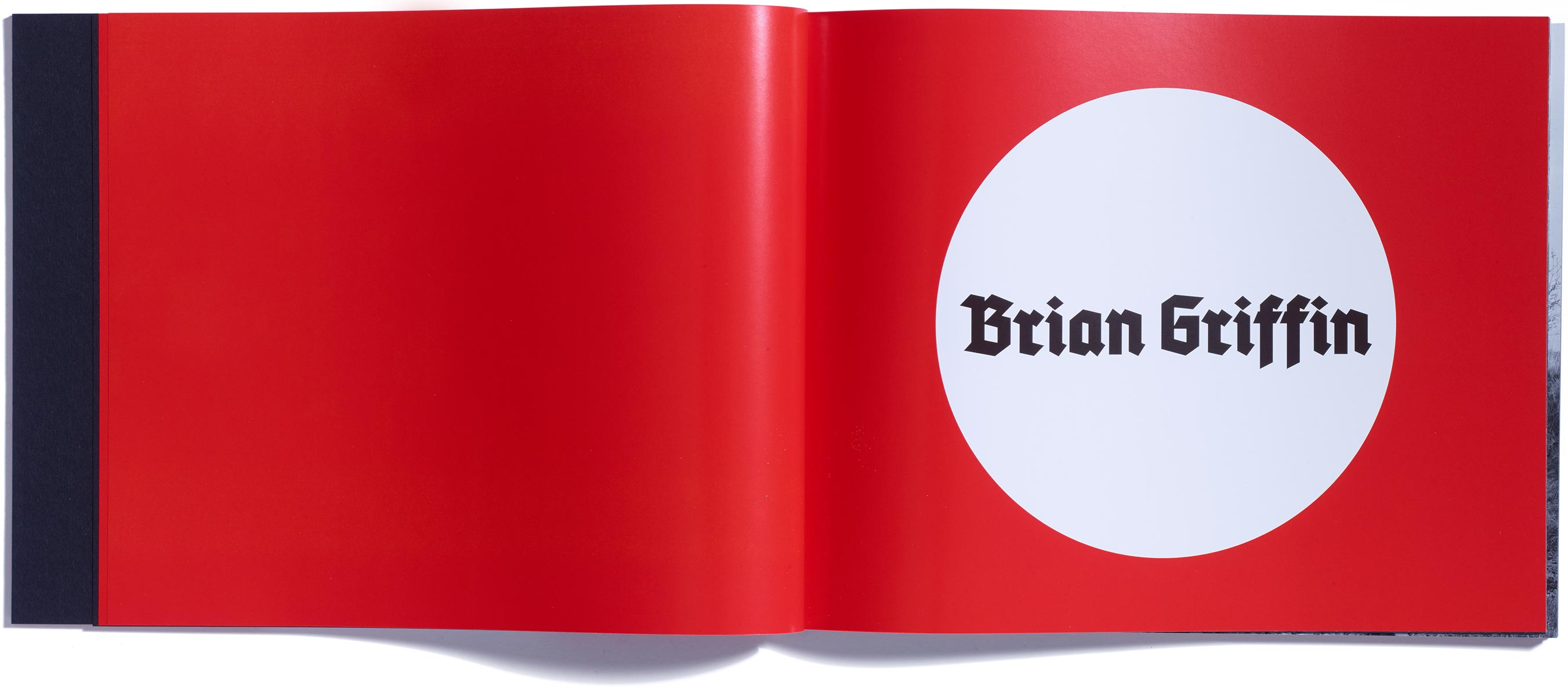 Himmelstrasse, Brian Griffin, published by Browns Editions, designed by Browns Design, book