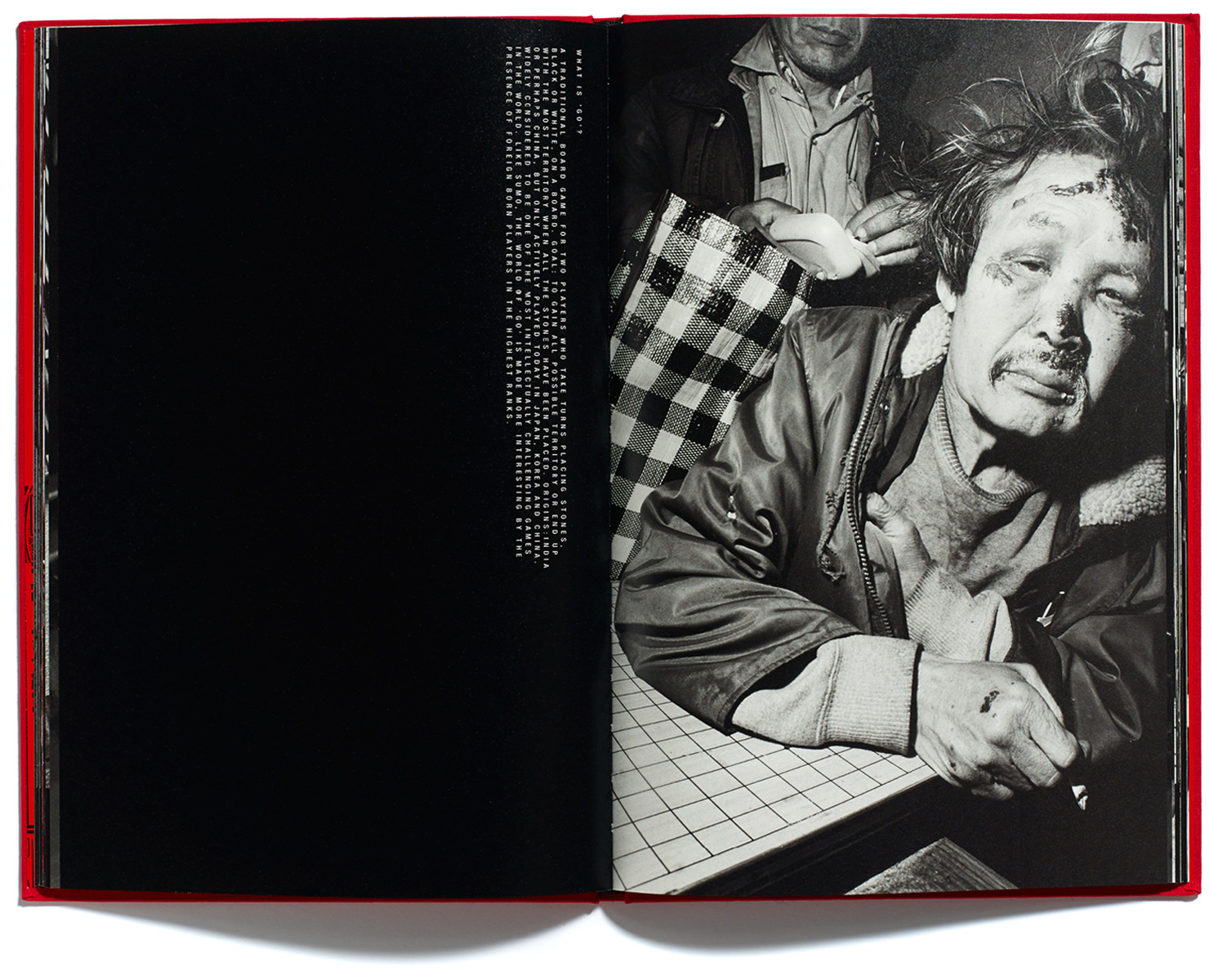 Bruce Gilden, Go, Published by Browns Editions, Design by Browns Design book