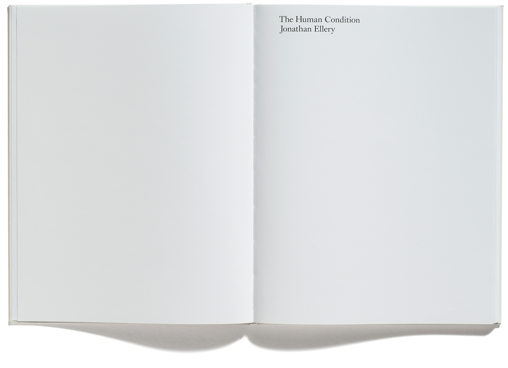 Browns Editions, Jonathan Ellery, The Human Condition, designed by Browns Design