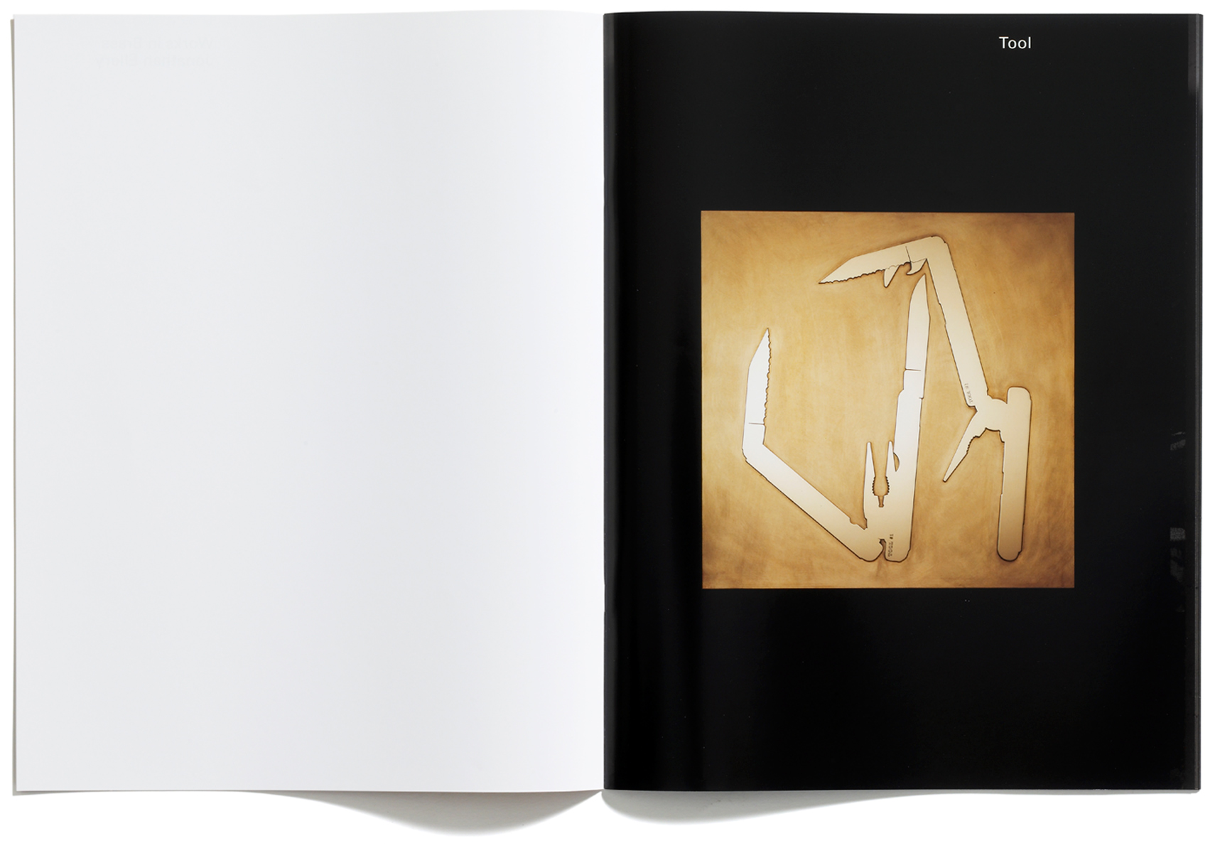 Jonathan Ellery, Works in Brass, published by Browns Editions, designed by Browns Design, art