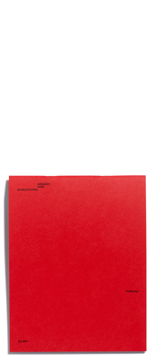 Mergers and Acquisitions/ Tenugui/ Catalogue by Jonathan Ellery, published by Browns Editions