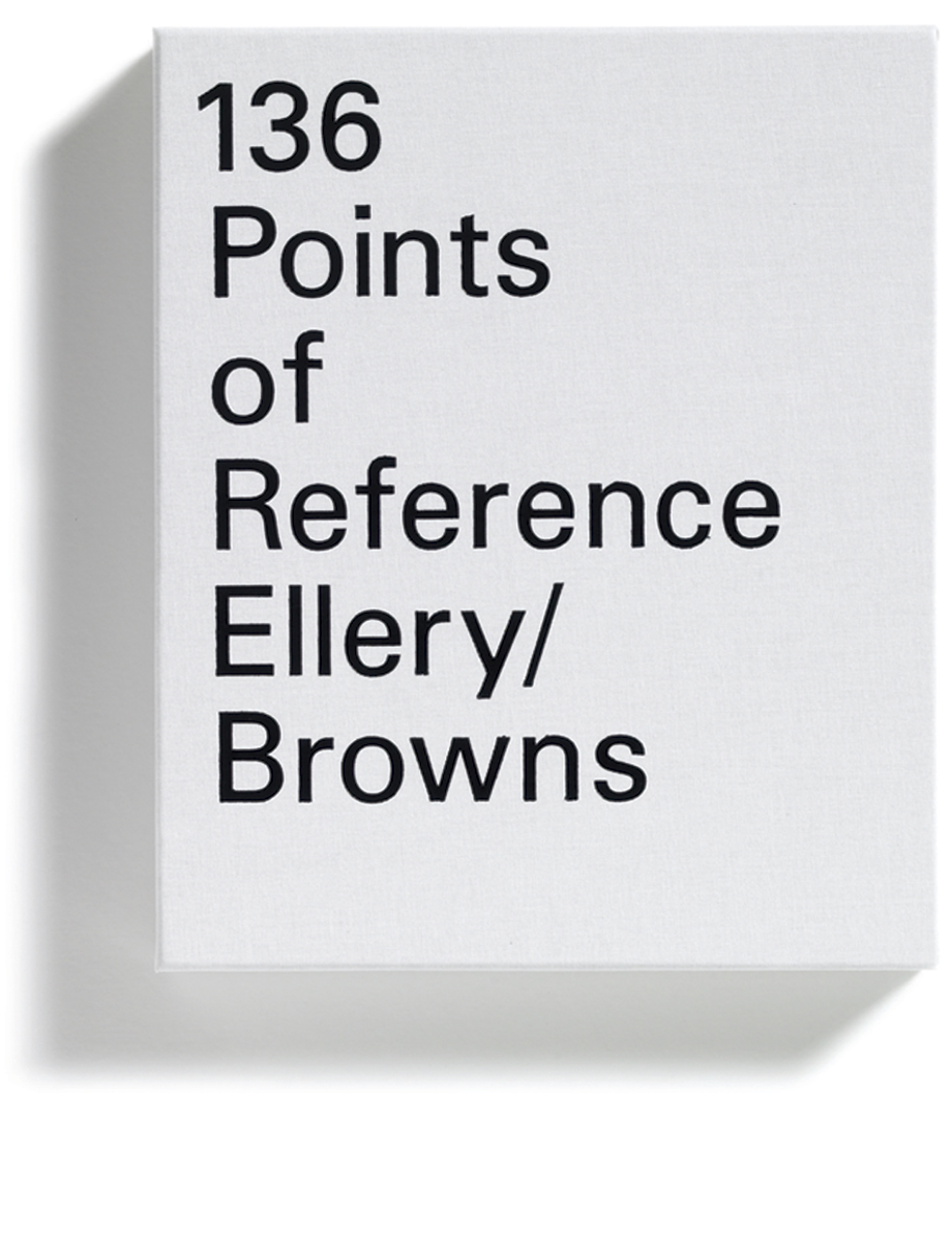 Browns Editions, Jonathan Ellery, 136 Points of Reference, Browns Design, book