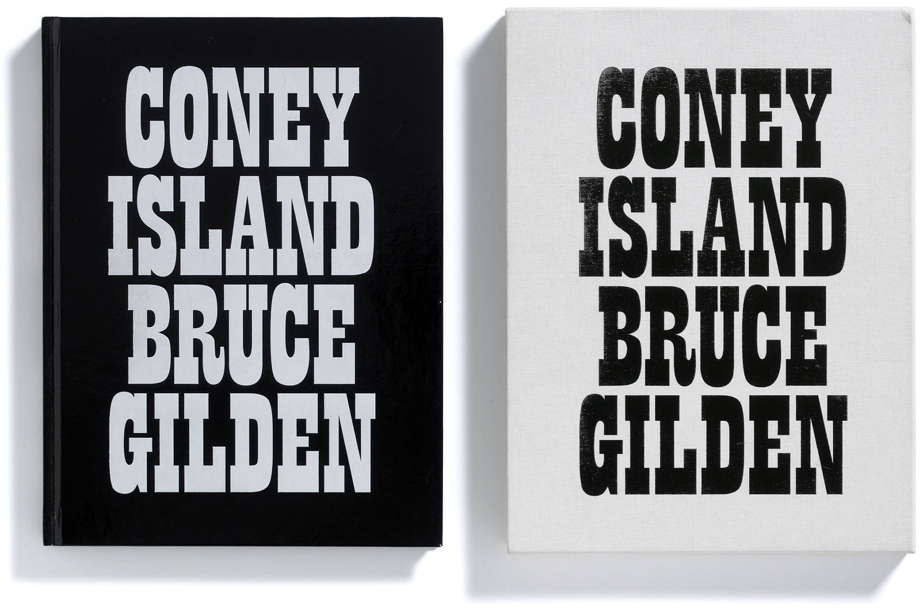 Coney Island Book by Bruce Gilden, published by Browns Editions, Browns Design