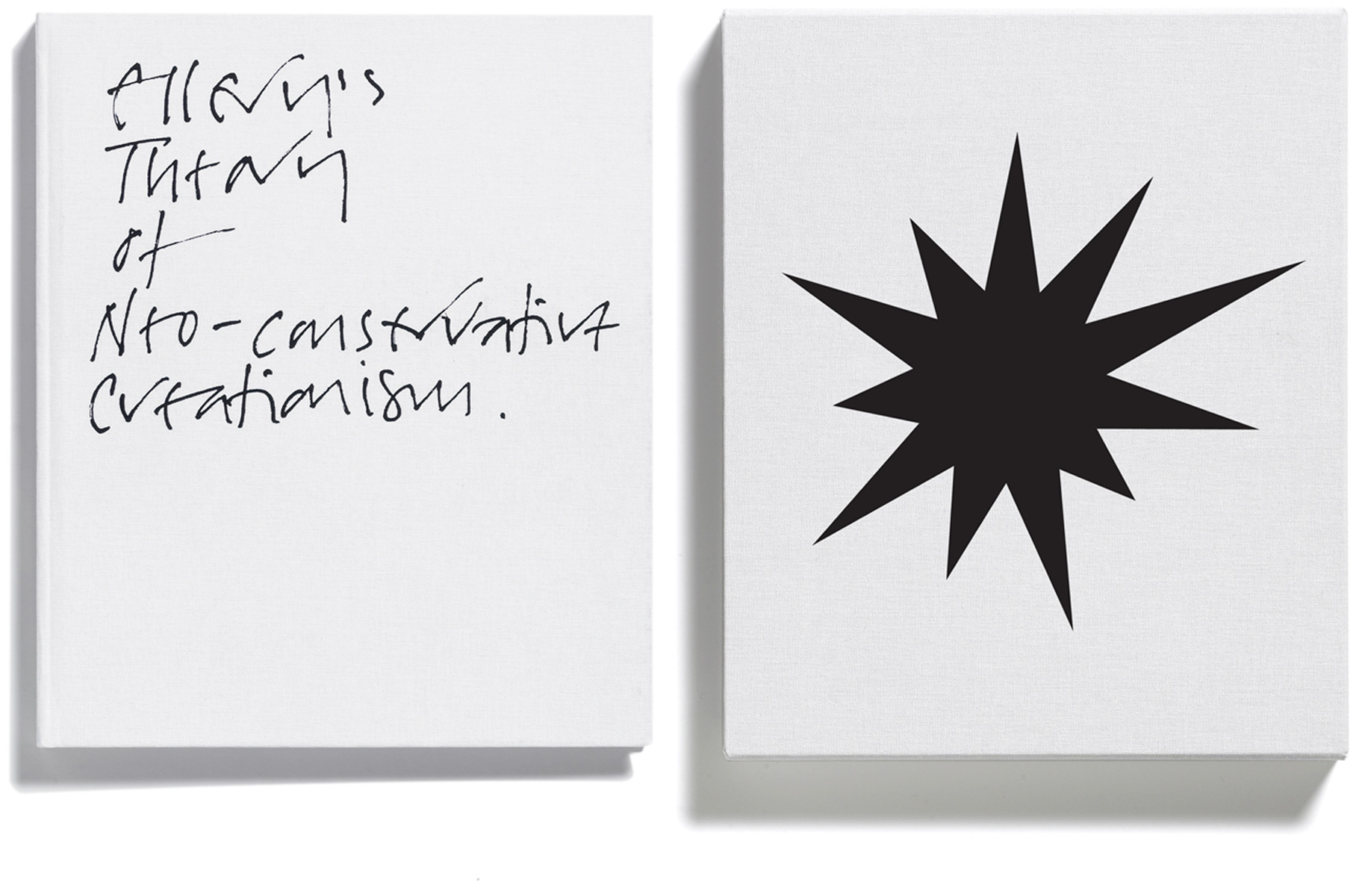 Browns Editions, Jonathan Ellery, Ellerys Theory of Neo-conservative Creationism, designed by Browns Design, Art, book