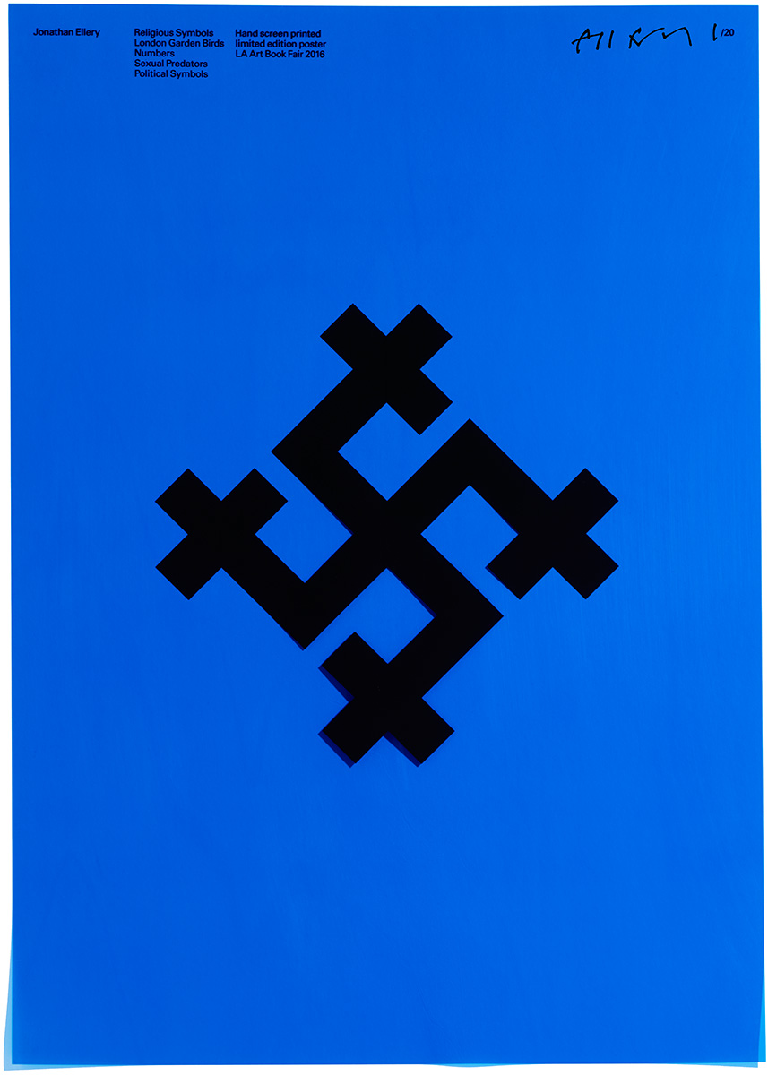 Religious Symbols, Browns Editions, Jonathan Ellery, Poster, Browns Design