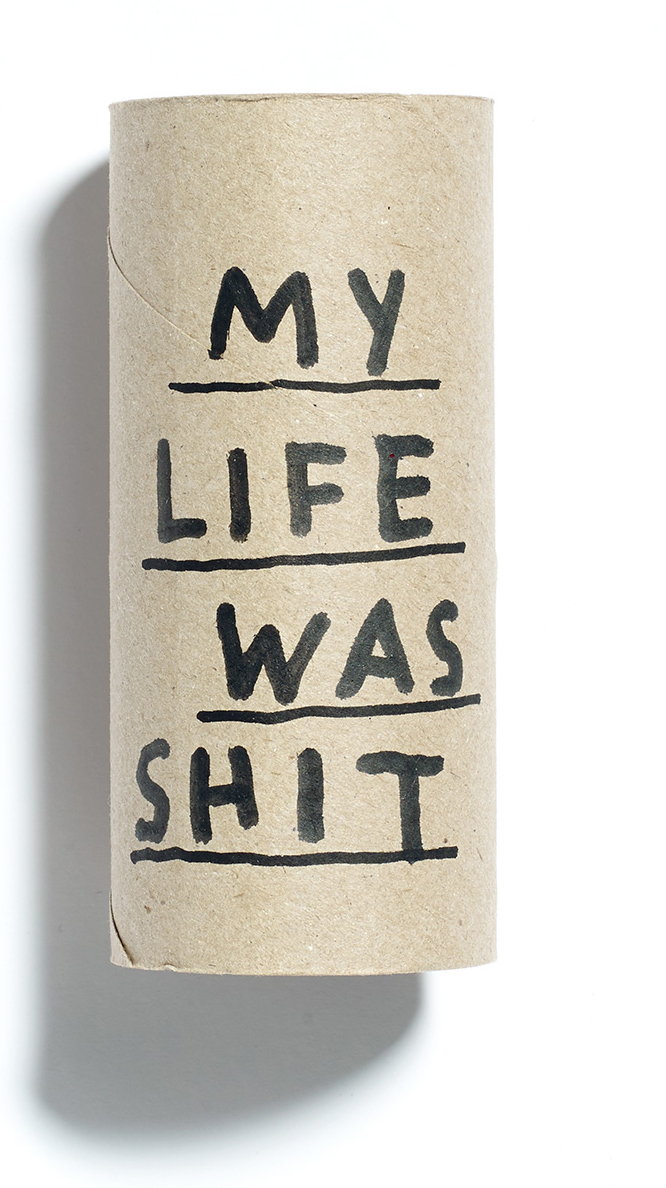 Browns Editions, Paul Davis, My Life Was Shit toilet Roll