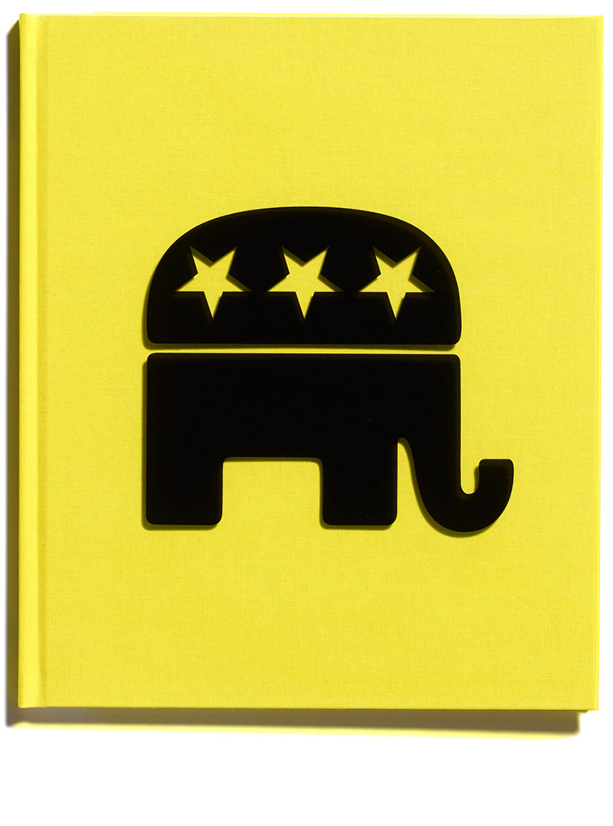 Political Symbols, Jonathan Ellery, published by Browns Editions, designed by Browns Design, book