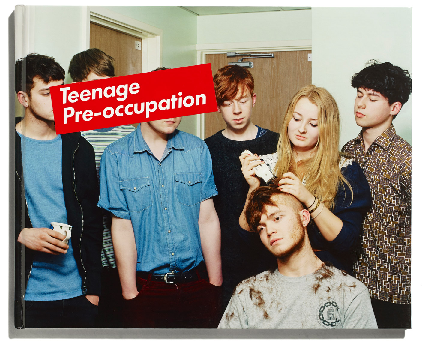 Teenage Pre-occupation, David Stewart, published by Browns Editions, designed by Browns Design